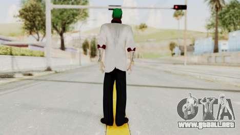 The Joker from Suicide Squad Re-Textured para GTA San Andreas tercera pantalla