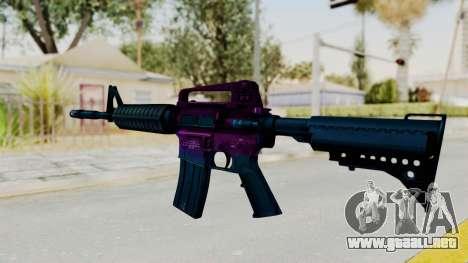 Vice M4 para GTA San Andreas segunda pantalla