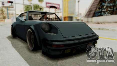 Comet 911 GermanStyle para la visión correcta GTA San Andreas