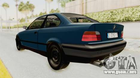 BMW 325i E36 para GTA San Andreas left