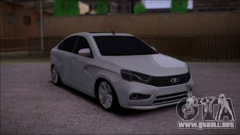 Lada Vesta Stock para GTA San Andreas left