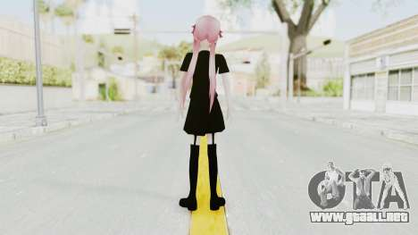 Gasai Yuno Black Dress para GTA San Andreas tercera pantalla