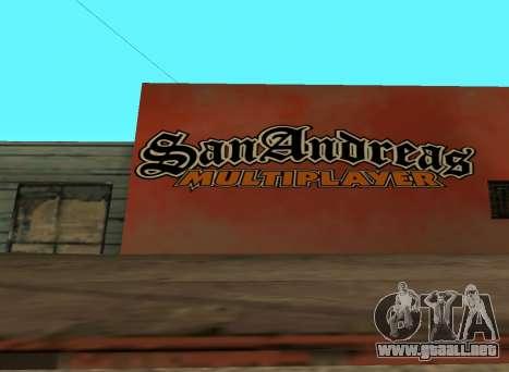 San Andreas Multiplayer Graffiti para GTA San Andreas