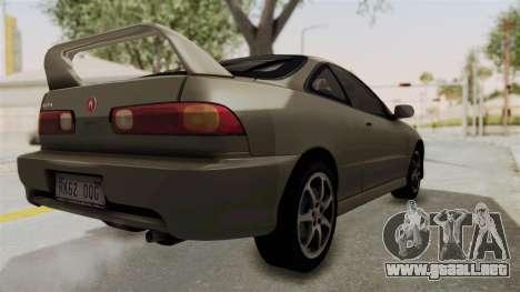 Acura Integra Fast N Furious para GTA San Andreas left