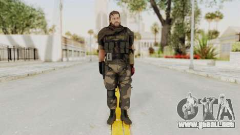 MGSV The Phantom Pain Venom Snake Sc No Patch v4 para GTA San Andreas segunda pantalla