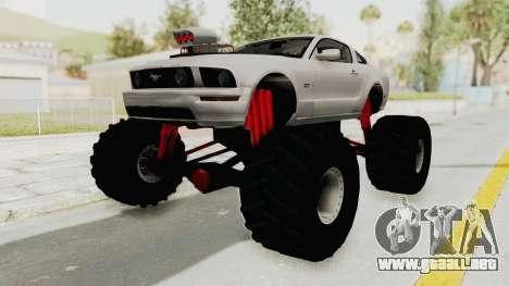 Ford Mustang 2005 Monster Truck para GTA San Andreas