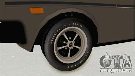 Fiat 131 Supermirafiori 1977 para GTA San Andreas vista hacia atrás