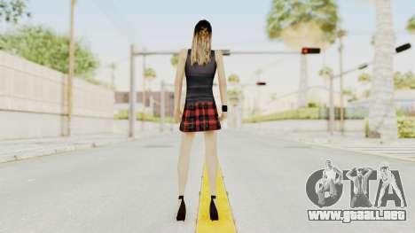 New Skin Michelle para GTA San Andreas tercera pantalla