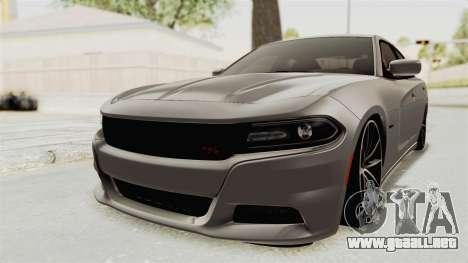 Dodge Charger RT 2015 para GTA San Andreas