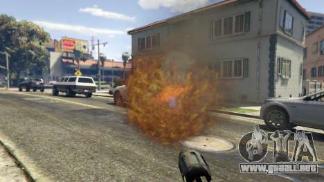 GTA 5 Real Flamethrower 1.5 quinta captura de pantalla
