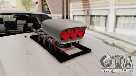 Ford Mustang 2005 Monster Truck para visión interna GTA San Andreas