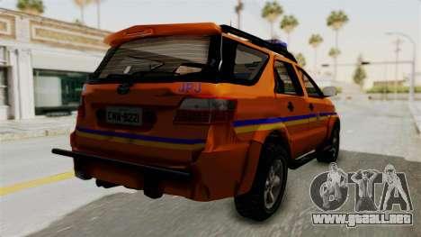 Toyota Fortuner JPJ Orange para la visión correcta GTA San Andreas