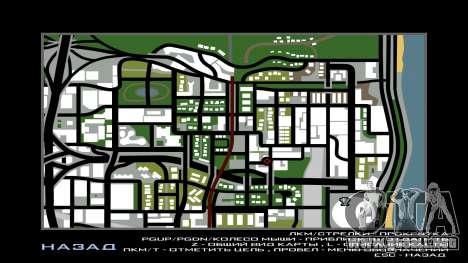 San Andreas Multiplayer Graffiti para GTA San Andreas sucesivamente de pantalla