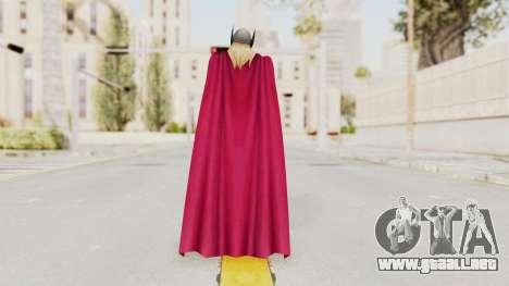 Marvel Future Fight - Thor (Jane Foster) para GTA San Andreas tercera pantalla