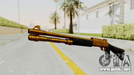 XM1014 Gold para GTA San Andreas