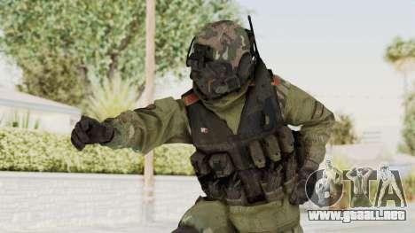 Advanced Warfare North Korean Assault Soldier para GTA San Andreas