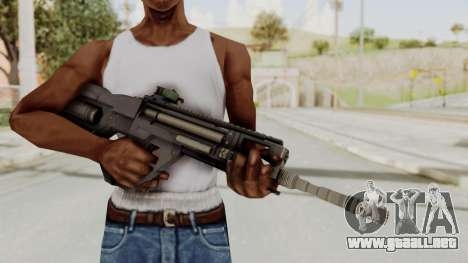 Integrated Munitions Rifle Black para GTA San Andreas tercera pantalla