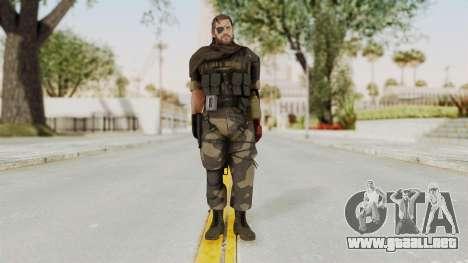 MGSV The Phantom Pain Venom Snake Scarf v4 para GTA San Andreas segunda pantalla