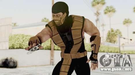 Mortal Kombat X Klassic Tremor para GTA San Andreas