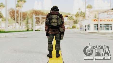 Battery Online Russian Soldier 7 para GTA San Andreas tercera pantalla
