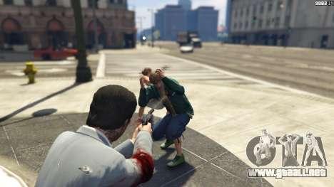 GTA 5 Realistic Bullet Damage segunda captura de pantalla