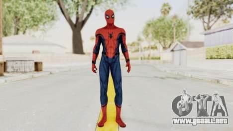 Captain America Civil War - Spider-Man para GTA San Andreas segunda pantalla
