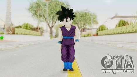 Dragon Ball Xenoverse Gohan Teen DBS SJ v1 para GTA San Andreas segunda pantalla
