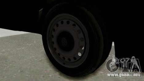 Volkswagen Golf 2 Tuning para GTA San Andreas vista hacia atrás