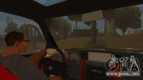 Nissan Patrol Y61 para visión interna GTA San Andreas