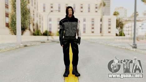 Captain America Civil War - Winter Soldier para GTA San Andreas segunda pantalla