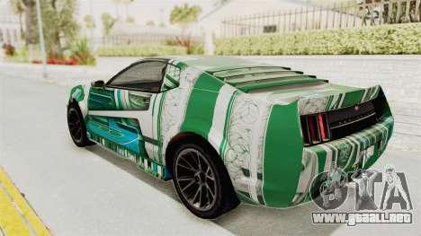 GTA 5 Vapid Dominator v2 SA Style para GTA San Andreas