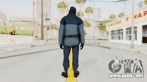 Bourne Conspirancy Zurich Police v1 para GTA San Andreas tercera pantalla