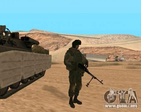 Las fuerzas especiales de la Federación de rusia para GTA San Andreas sexta pantalla