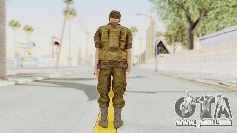 MGSV The Phantom Pain Soviet Union No Sleeve v1 para GTA San Andreas tercera pantalla