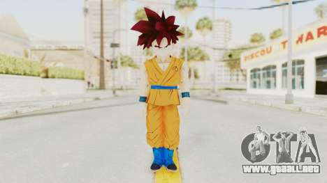 Dragon Ball Xenoverse Gohan Teen DBS SSG v2 para GTA San Andreas segunda pantalla