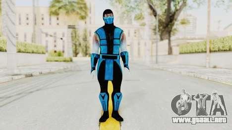 Mortal Kombat X Klassic Sub Zero UMK3 v2 para GTA San Andreas segunda pantalla