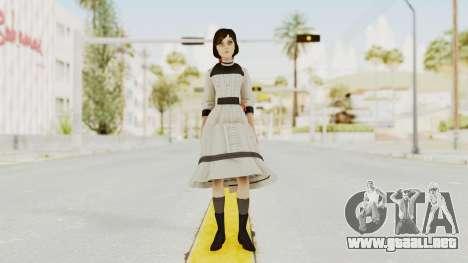Bioshock Infinite Elizabeth Young para GTA San Andreas segunda pantalla