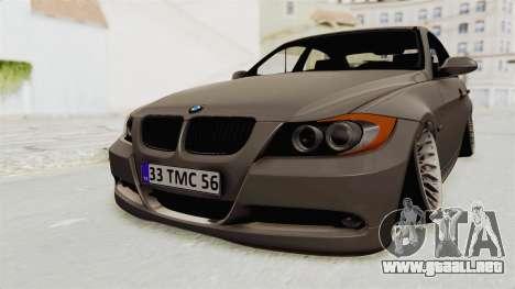 BMW 330i E92 Camber para la visión correcta GTA San Andreas