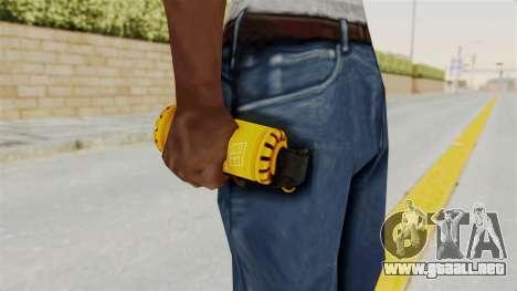 Tear Gas Gold para GTA San Andreas tercera pantalla