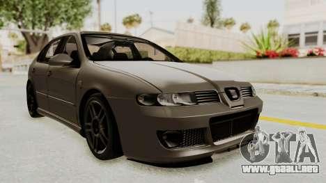Seat Leon CupraR 2003 para la visión correcta GTA San Andreas