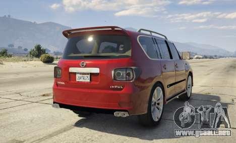 2014 Nissan Patrol Impul para GTA 5