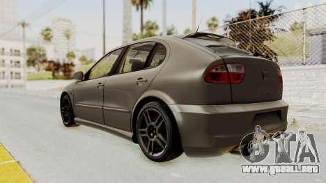 Seat Leon CupraR 2003 para GTA San Andreas left