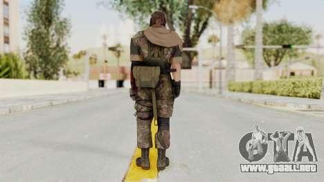 MGSV The Phantom Pain Venom Snake Scarf v6 para GTA San Andreas tercera pantalla
