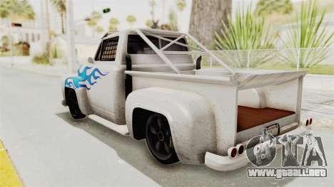 GTA 5 Slamvan Race PJ1 para GTA San Andreas left