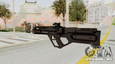 Integrated Munitions Rifle Black para GTA San Andreas segunda pantalla