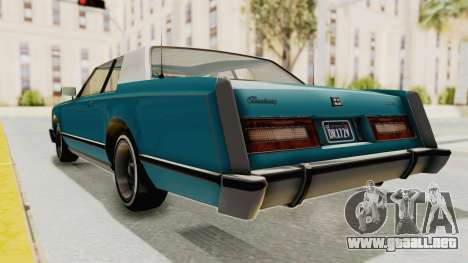 GTA 5 Dundreary Virgo Classic Custom v3 para la visión correcta GTA San Andreas