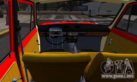 VAZ 21011 de Fábrica para GTA 4 vista hacia atrás