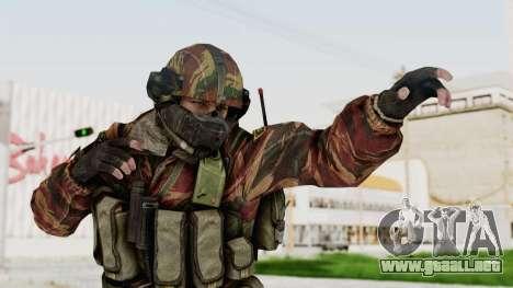 Battery Online Russian Soldier 7 para GTA San Andreas