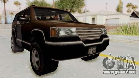 Landstalker from GTA 3 para la visión correcta GTA San Andreas