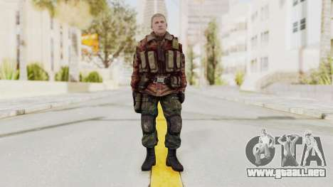 Battery Online Russian Soldier 10 v3 para GTA San Andreas segunda pantalla